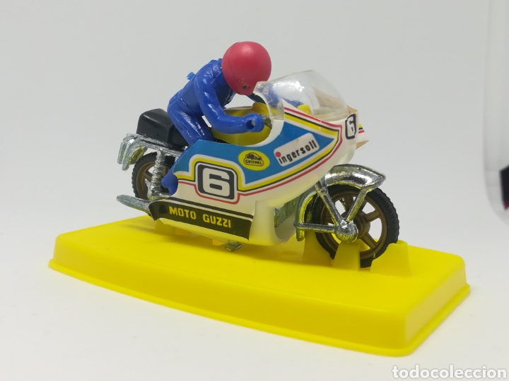 Motos a escala: Antigua moto guisval - n° 801 guzzi champion - nuevo sin uso - Foto 3 - 168230109