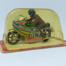 Motos a escala: ANTIGUA MOTO GUISVAL - GUZZI - NUEVO SIN USO. Lote 168230694