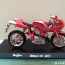 Motos a escala: MOTO MAISTO DUCATI MH900E ESCALA 1/18. Lote 168324488