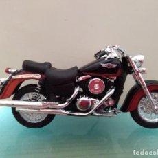 Motos a escala: MOTO MAISTO KAWASAKI 1500 CLASSIC TOURER ESCALA 1/18. Lote 168324900