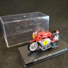 Motos a escala: MOTO MV AUGUSTA 500. GIACOMO AGOSTINI 1967. ESCALA 1:43. Lote 168804134