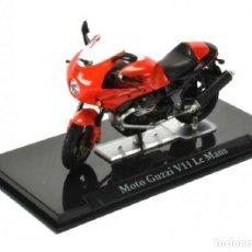Motos in scale: MOTO GUZZI V11 LE MANS 1:24 MOTO IXO ATLAS DIECAST. Lote 224467057