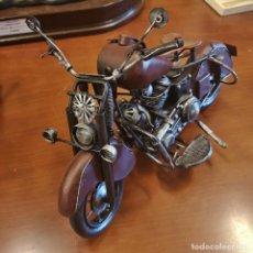Motos a escala: MOTOCICLETA DE CHAPA. Lote 169151432