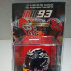 Motos a escala: -REPLICA DEL CASCO DE MARC MAQUEZ WC 2012 -MOTO 2. Lote 170254668