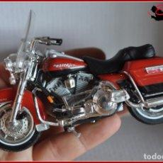Motos a escala: TX4 18 - MAISTO - HARLEY DAVIDSON ELECTRA GLIDE ROAD KING. Lote 170497296