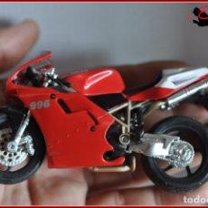 Motos a escala: TX4 26 - MAISTO - DUCATI 996SPS. Lote 170501212