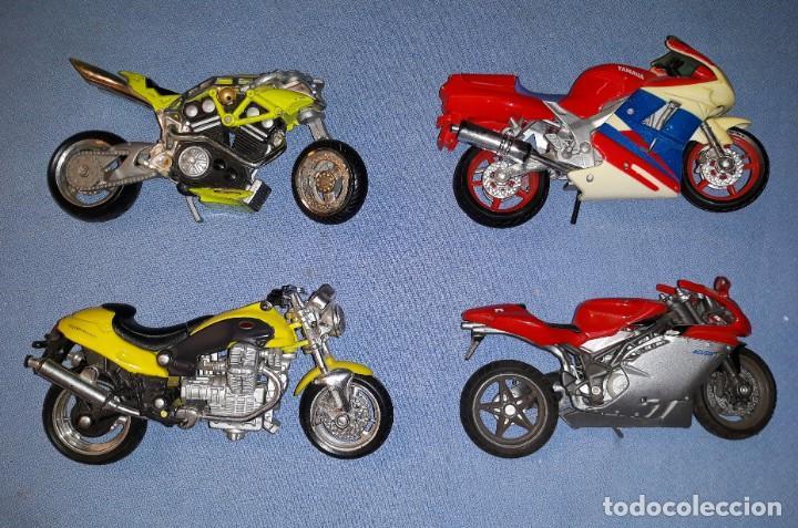 Motos a escala: LOTE DE 4 MOTOS MAISTO MAJORETTE MATTEL EN MUY BUEN ESTADO ORIGINALES VER FOTOS Y DESCRIPCION - Foto 3 - 171046825