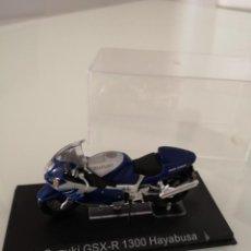 Motos a escala: SUZUKI GSX-R 1300 HAYABUSA NUEVA EN SU BLISTER ORIGINAL. Lote 171084365