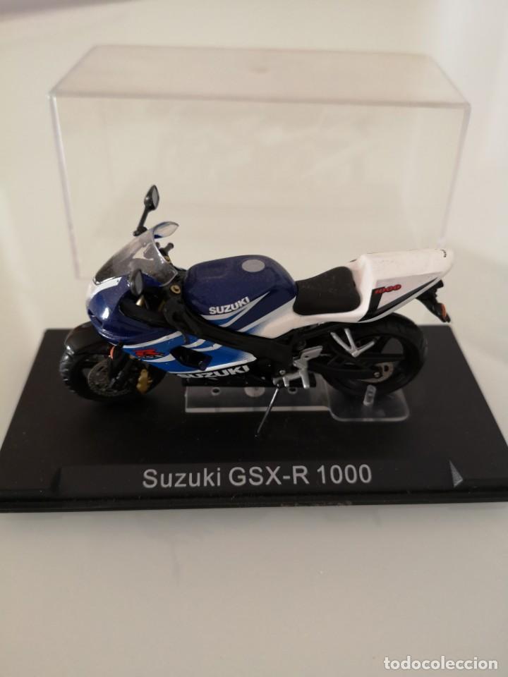 SUZUKI GSX-R 1000 ESCALA 1/24 NUEVA EN SU BLISTER ORIGINAL (Juguetes - Motos a Escala)