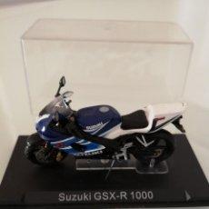 Motos a escala: SUZUKI GSX-R 1000 ESCALA 1/24 NUEVA EN SU BLISTER ORIGINAL . Lote 171085924
