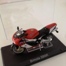 Motos a escala: BIMOTA SB8R ESCALA 1/24 NUEVA EN SU BLISTER ORIGINAL . Lote 171086407