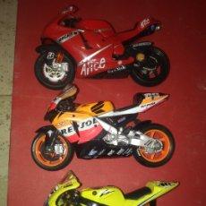 Motos a escala: 3 MOTOS MAISTO . Lote 172652128