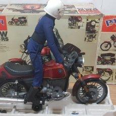 Motos a escala: MOTO CON MUÑECO PAYÁ BMW R 100 RS NUEVO AÑOS 80 JUGUETES. Lote 173112877