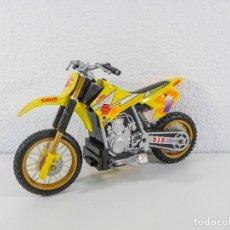 Motos a escala: MOTO 1 SUZUKI, TECNOSEL, EXCEL NGL MOTUL. Lote 174225414