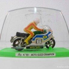 Motos a escala: MOTO GUISVAL: NO. 801- MOTO GUZZI- CHAMPION.. Lote 174440488