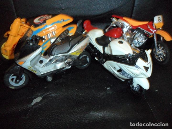 Motos a escala: MOTOS COLECCION - LOTE DE 5 MOTOS MINIATURAS DE METAL Y PLASTICO - - Foto 2 - 175606225