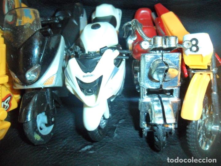 Motos a escala: MOTOS COLECCION - LOTE DE 5 MOTOS MINIATURAS DE METAL Y PLASTICO - - Foto 4 - 175606225