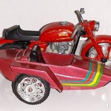 Motos a escala: MIRA GUILOY : ANTIGUA MOTO SIDECAR NORTON AÑOS 70. Lote 175735199