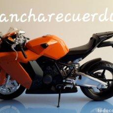 Motos a escala: MOTO MINIATURA KTM 1190 NUEVA DE COLECCION ESCALA 17 X 9 CMTRS MOTOCICLETA. Lote 176504299