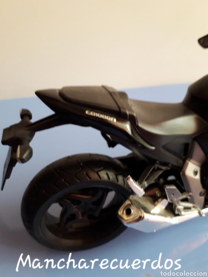 Motos a escala: MOTO MINIATURA HONDA CB 1000 R NUEVA DE COLECCION ESCALA 17 X 9 CMTRS MOTOCICLETA - Foto 6 - 176507080