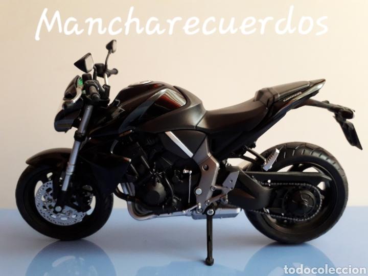 MOTO MINIATURA HONDA CB 1000 R NUEVA DE COLECCION ESCALA 17 X 9 CMTRS MOTOCICLETA (Juguetes - Motos a Escala)