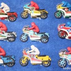 Motos a escala: LOTE DE 10 MOTOS - GALLETAS SIRO. Lote 176681900