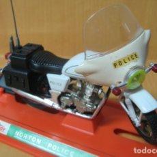 Motos a escala: GUILLOY MOTO NORTON DE POLICIA REF :103 ESCALA 1/12 MADE IN SPAIN. Lote 176873123
