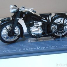 Motos in scale: 3012 MOTO GNOME & RHONE MAJOR 350 1934 MOTORBIKE BIKE MOTOCICLETA 1/24 1:24. Lote 177457879