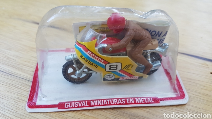 MOTO HONDA GUISVAL EN BLISTER (Juguetes - Motos a Escala)
