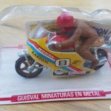 Motos a escala: MOTO HONDA GUISVAL EN BLISTER. Lote 177734138