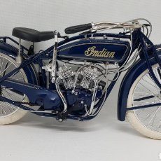 Motos a escala: GUILOY MOTO INDIAN SCOUT 1920 ESCALA 1/6. Lote 182791510