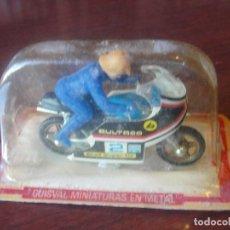 Motos a escala: MOTO GUISVAL BULTACO 2 A RODAR CON - NUEVA SIN ESTRENAR - ENVIO GRATIS. Lote 183915695