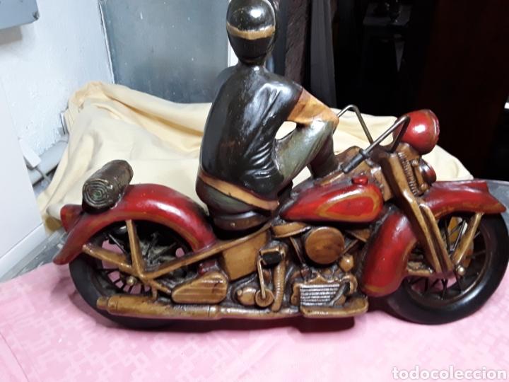 Motos a escala: Motorista con Harley - Foto 2 - 188553452