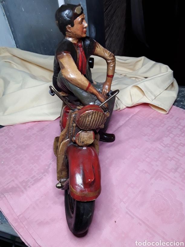 Motos a escala: Motorista con Harley - Foto 4 - 188553452