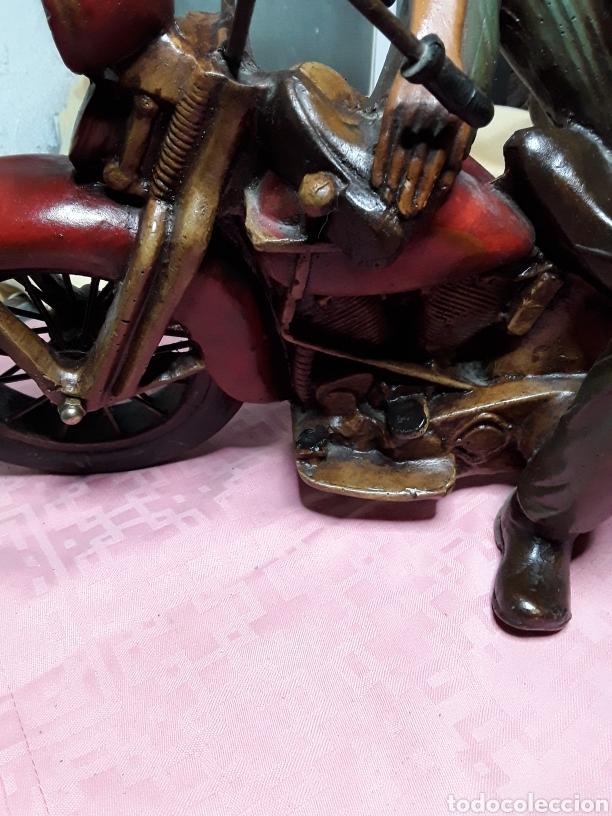 Motos a escala: Motorista con Harley - Foto 5 - 188553452
