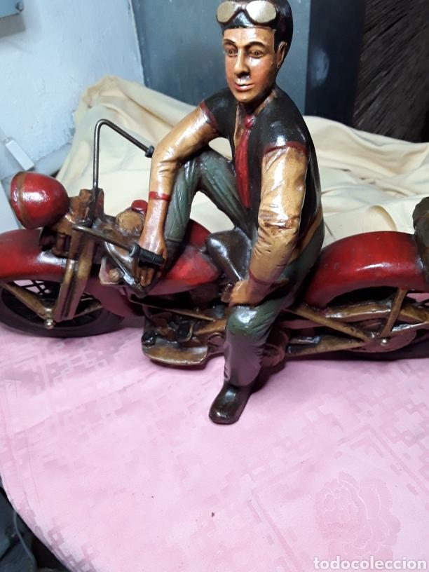 Motos a escala: Motorista con Harley - Foto 7 - 188553452