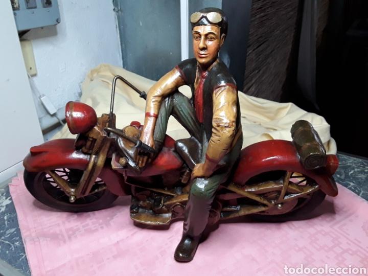 Motos a escala: Motorista con Harley - Foto 8 - 188553452
