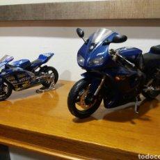 Motos in scale: LOTE MOTOS PERFECTO ESTADO. YAMAHA R1. HONDA SETE GIBERNAU. Lote 188728357