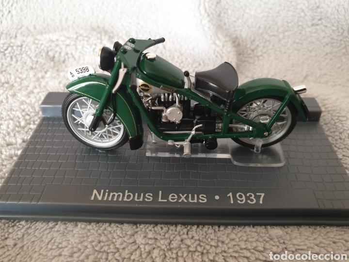 MOTO NIMBUS LEXUS 1937 (Juguetes - Motos a Escala)