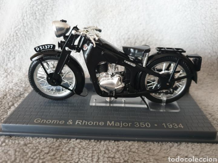 MOTO GNOME & RHONE MAJOR 350 1934 (Juguetes - Motos a Escala)