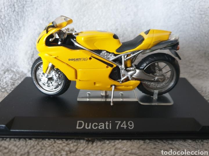 MOTO DUCATI 749 (Juguetes - Motos a Escala)