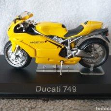 Motos a escala: MOTO DUCATI 749. Lote 189742921