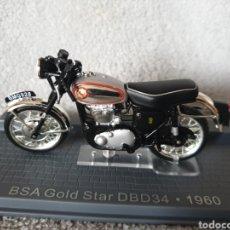Motos a escala: MOTO BSA GOLD STAR DBD34 1960. Lote 189751448