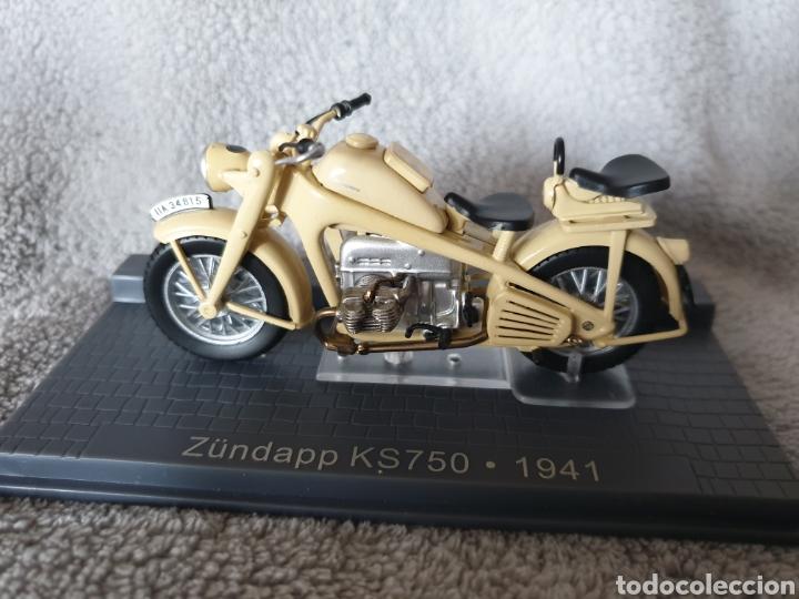 MOTO ZÜNDAPP KS750 1941 (Juguetes - Motos a Escala)