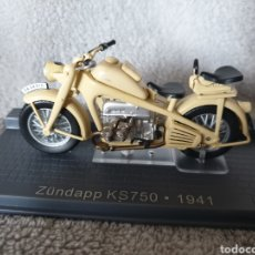 Motos in scale: MOTO ZÜNDAPP KS750 1941. Lote 189751651