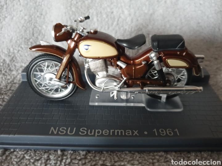 MOTO NSU SUPERMAX 1961 (Juguetes - Motos a Escala)