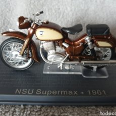 Motos in scale: MOTO NSU SUPERMAX 1961. Lote 189753533