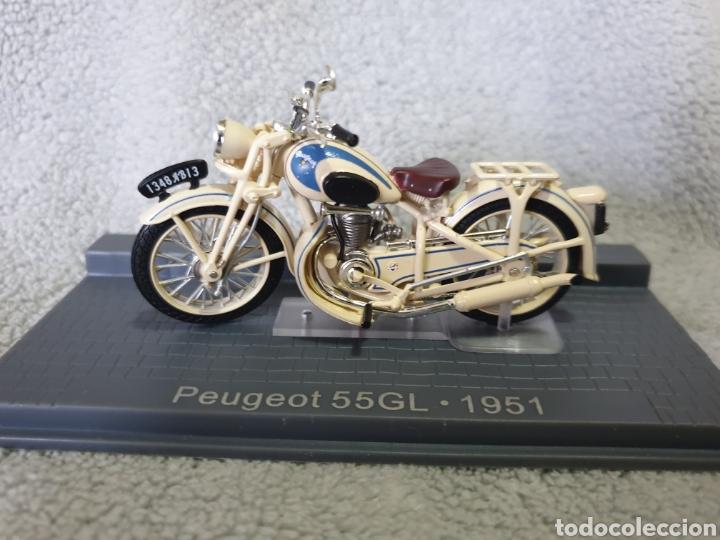 MOTO PEUGEOT 55GL 1951 (Juguetes - Motos a Escala)