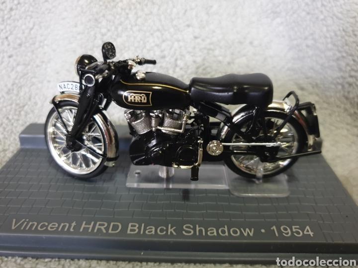 MOTO VINCENT HRD BLACK SHADOW 1954 (Juguetes - Motos a Escala)
