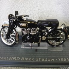 Motos in scale: MOTO VINCENT HRD BLACK SHADOW 1954. Lote 189755158